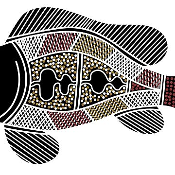 Aboriginal Art - Fish by HogarthArts