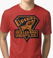 Gayway Roller Rink Tri-blend T-Shirt