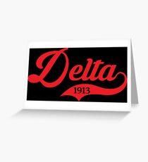 Delta 1913 Jersey Grußkarte