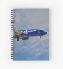 Southwest Airlines Boeing 737-76N Spiral Notebook