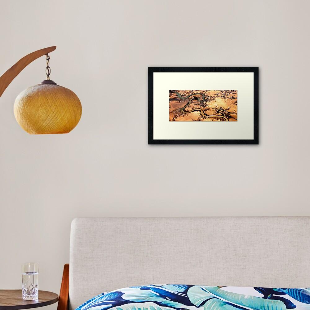 Carron River, Cape York Peninsula, Australia Framed Art Print