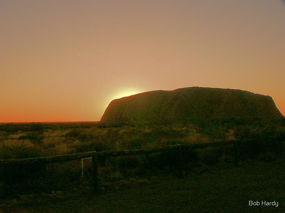 Ayers Sunrise by Bob Hardy