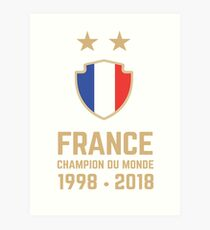 France World Cup 2018 Shirts - France World Cup Champions Shirts - FIFA World Cup Champion 2018 Products  Art Print