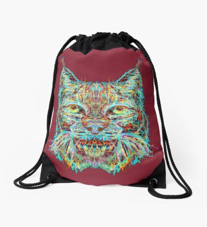 Lynx Drawstring Bag