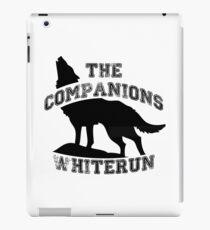 The companions of whiterun - Black iPad Case/Skin