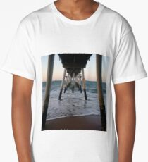 Sunset on the beach by the bay 3 Long T-Shirt