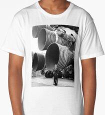Wernher von Braun With F-1 Engines Long T-Shirt