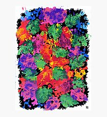 Bougainvillea Abstract Photographic Print