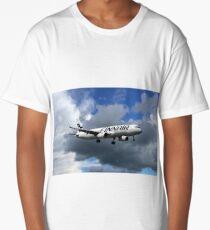 Finnair Airbus A321-231 Long T-Shirt