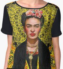 Frida Kahlo 3 Chiffon Top