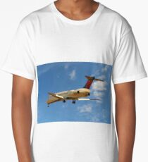 Delta Airlines Boeing 717-200 Long T-Shirt