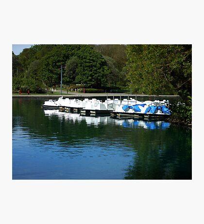 Boote - South Marine Park, Südschilder Fotodruck