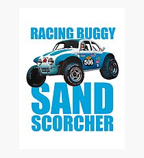 Sand Scorcher Racing Buggy Photographic Print