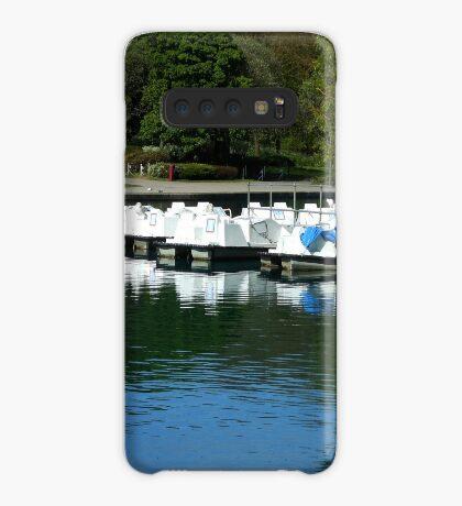 Boote - South Marine Park, Südschilder Hülle & Klebefolie für Samsung Galaxy
