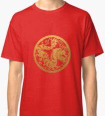 Chinese Zodiac Dragon in Gold Classic T-Shirt