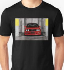 Red Sports Car - Front Unisex T-Shirt