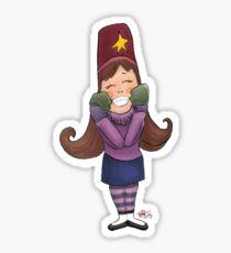 Happy Mabel Sticker