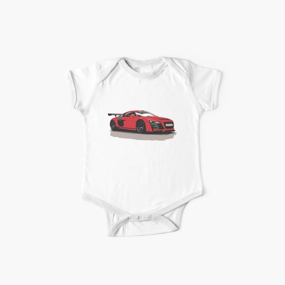 Audi R8 - Vorderseite Baby Bodys