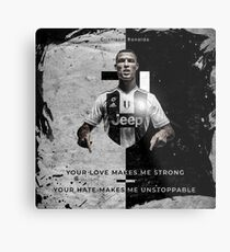 Cristiano Ronaldo Juventus  Metal Print