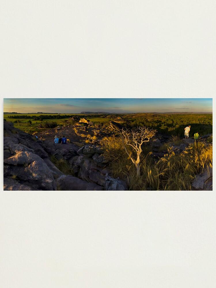 Alternate view of Sun Watchers Photographic Print