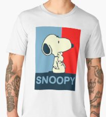 snoopy pop art Men's Premium T-Shirt