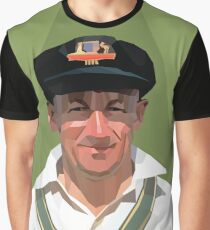 Sir Don Bradman Graphic T-Shirt
