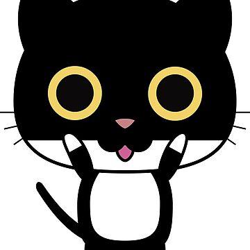 Cute Cat Kitten Happy Fun Kitty by decentdesigns