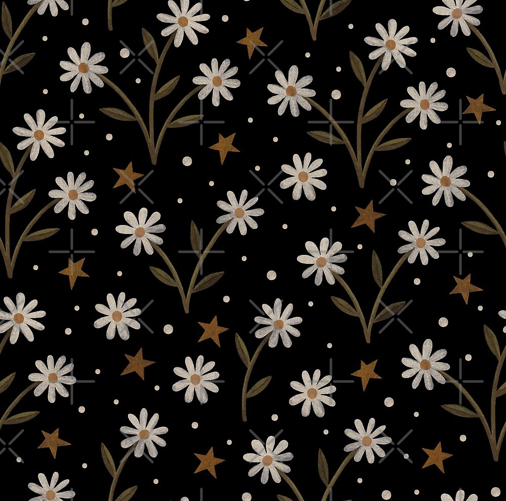 Tiny White Flowers By Laorel Redbubble