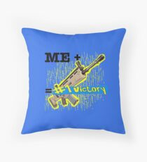 Battle Royale Scar Throw Pillow