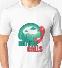 Nature calls Unisex T-Shirt