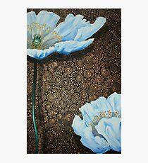 White Poppies II Photographic Print