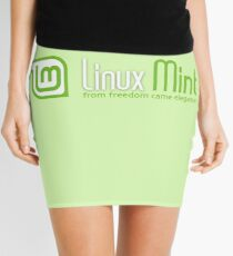 Linux Mint Mini Skirt