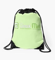 Linux Mint Drawstring Bag