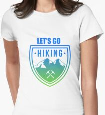 Hiking Women's Fitted T-Shirt