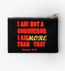 I am more than a conqueror gift T-Shirt Studio Pouch