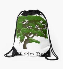 That is a tree Drawstring Bag