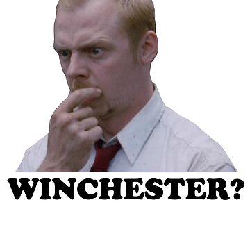 Shaun of the dead - Winchester? by red-rawlo