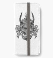 Samurai Mask iPhone Wallet/Case/Skin