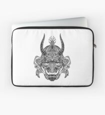 Samurai Mask Laptop Sleeve