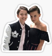 Noah Schnapp and Millie Bobby Brown - Team Nillie Sticker