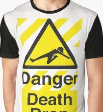 Todestropfen Grafik T-Shirt