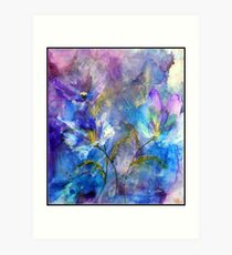 """""""Fleurs Pourpres"""" Art Print"""