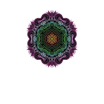 Amazing and Colorful Mandala  by FallenRevol