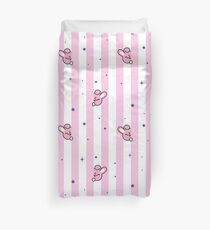 BT21 Cooky Striped Pajamas Pattern Duvet Cover