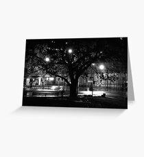Franklin Square, Hobart Greeting Card