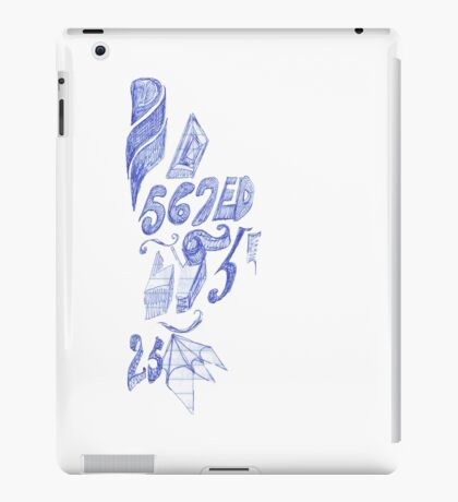 567ED iPad Case/Skin