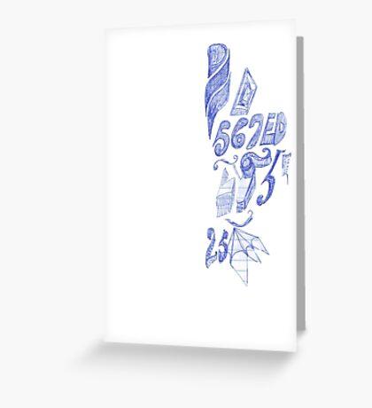 567ED Greeting Card