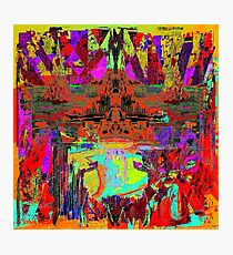 GLOBAL WARMING - Alien Point of View Photographic Print