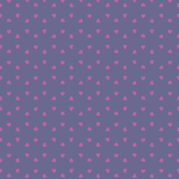 Dainty Pink Hearts by Joho3d