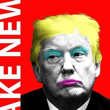 Fake News - Red by garyhogben